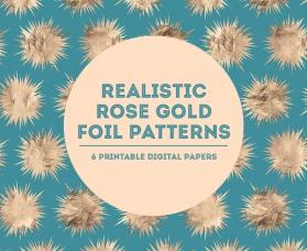 Rose-Gold-Foil-Patterns-Blixa6Studios
