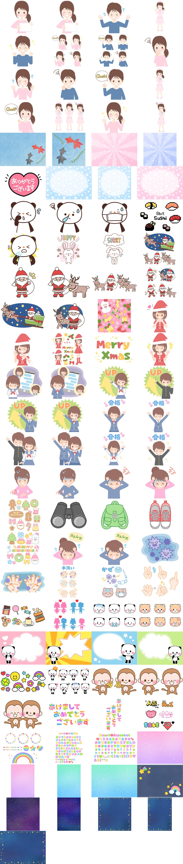 101-Versatile-Cute-Illustrations