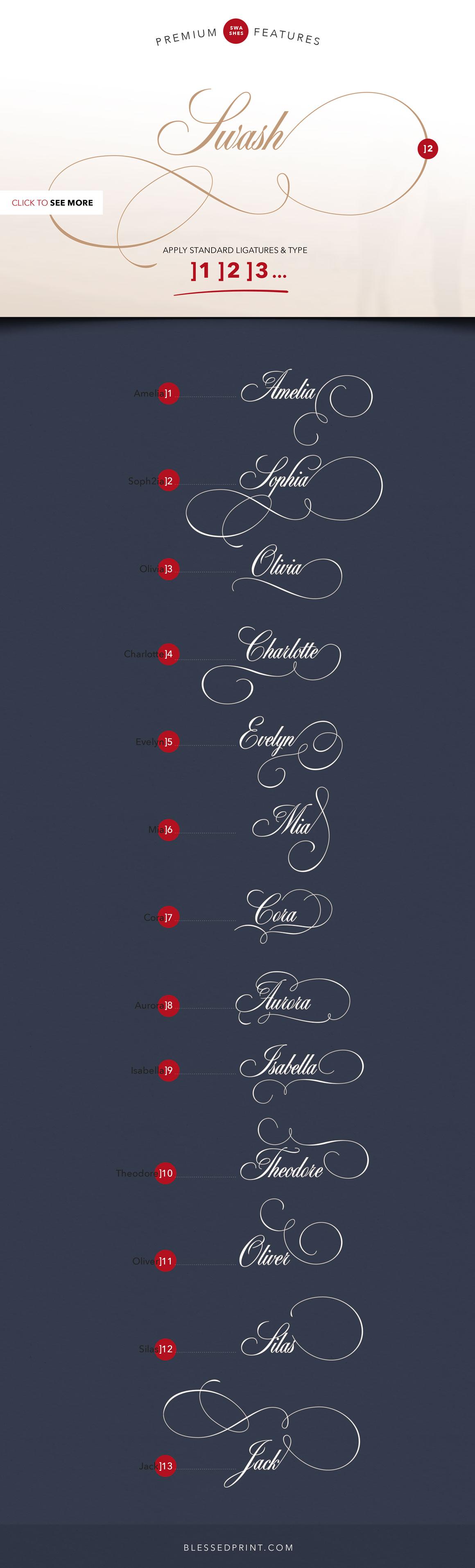 選りすぐり!モダンな英語フォント集