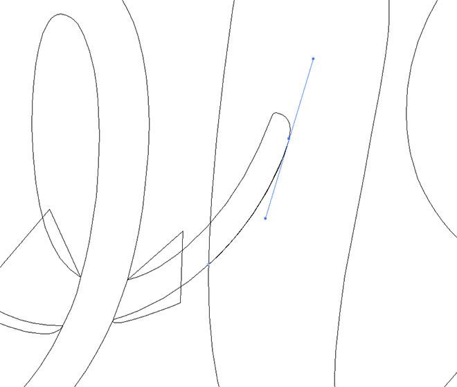 【イラレ】文字に陰影とテクスチャーをつける方法