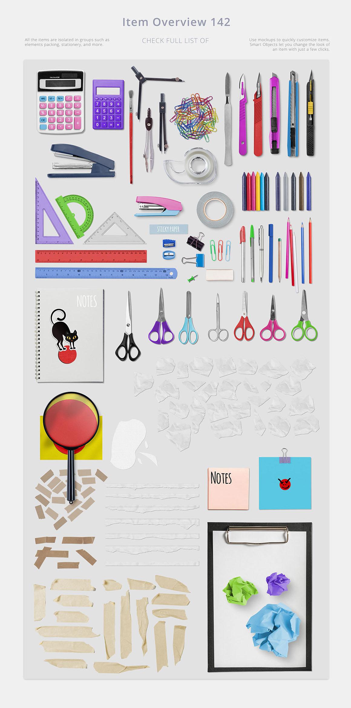 デザイン彩るアーティスト道具箱コレクション