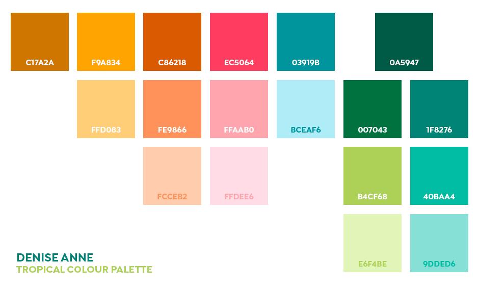人気デザイナーによる無料カラーパレットまとめ