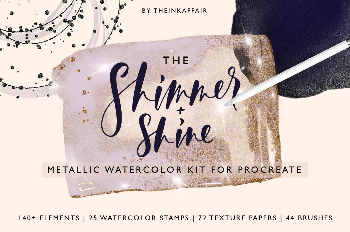 リアルな水彩画を叶えるProcreateブラシ25選
