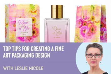 【フォトショ】テクスチャーを活用したパッケージデザインのコツ: Leslie Nicole